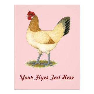 Penedesenca Wheaten Hen Full Color Flyer