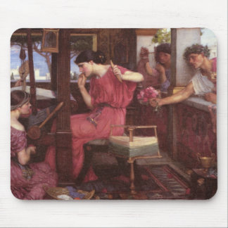 Penelope And The Suitors - John William Waterhouse Mouse Pad