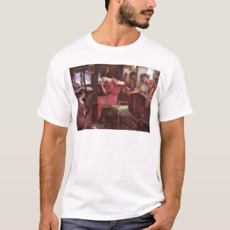 Penelope And The Suitors - John William Waterhouse T-Shirt