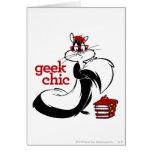 Penelope  - Geek Chic Greeting Card