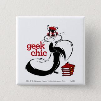 Penelope  - Geek Chic Pinback Button
