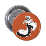 Penelope Grabbing Tail 2 Inch Round Button