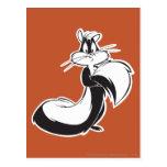 Penelope Grabbing Tail Postcard