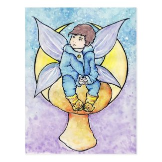 Penelope Moon Fairy Postcard