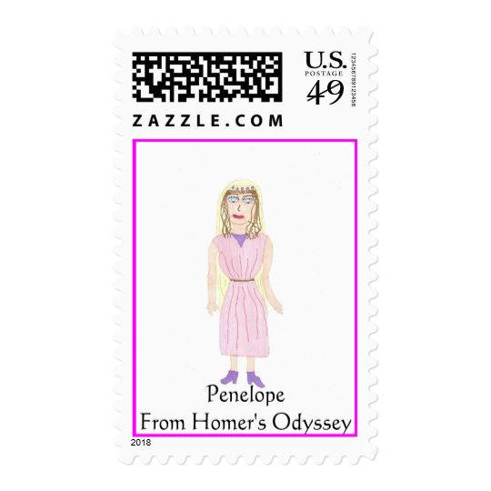 penelope, PenelopeFrom Homer's Odyssey Postage