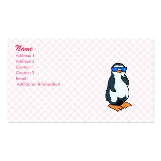 Penelope Penguin Business Card