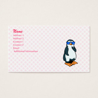 Penelope Penguin Business Card