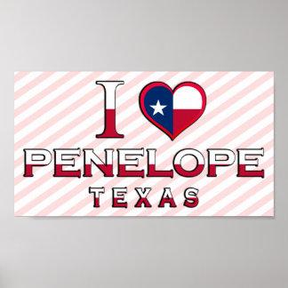 Penelope, Texas Poster