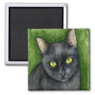 Penelope - The Lucky Black Cat Magnet