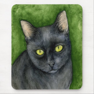 Penelope - The Lucky Black Cat Mousepad