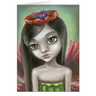 Penelope the poppy fae greeting cards