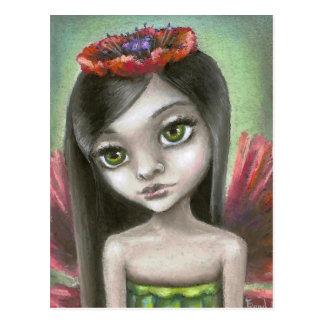 Penelope the poppy fae postcards