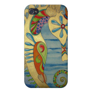 Penelope the Seahorse.jpg iPhone 4 Cases