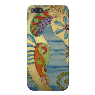 Penelope the Seahorse.jpg iPhone SE/5/5s Case