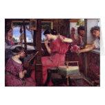 Penélope y las tarjetas de los pretendientes