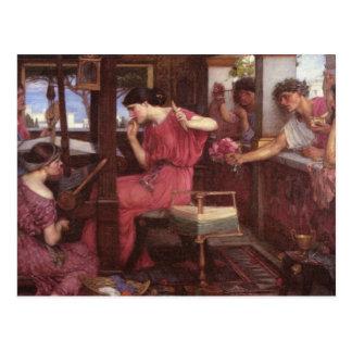 Penélope y los pretendientes - John William Postales