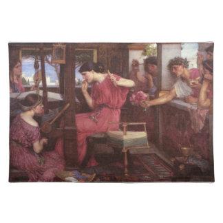 Penélope y los pretendientes mantel
