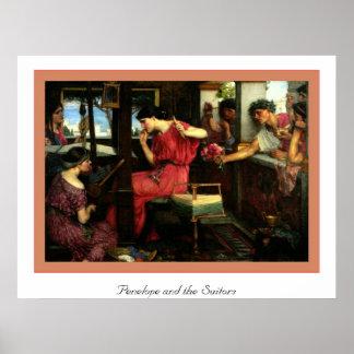 Penélope y los pretendientes poster