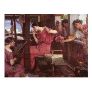 Penélope y los pretendientes postales