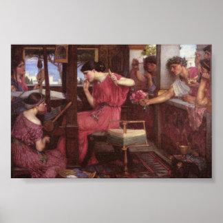 Penélope y sus pretendientes póster