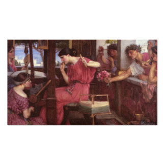 Penélope y sus pretendientes tarjetas de visita