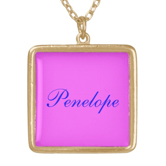Penelope's necklace