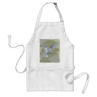 Penetración del pájaro de vuelo delantal