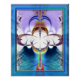 Penetrating Convergence Variation 1  Art Print