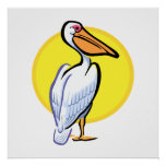 Penga Pelican Poster