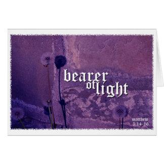 Pengi Apados Bearer of Light notecard