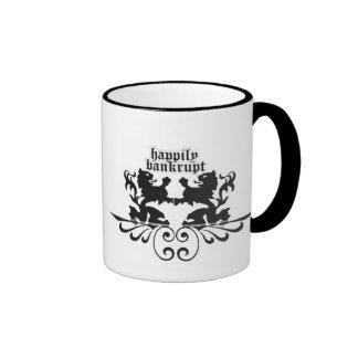 Pengi Apados Happily Bankrupt mug