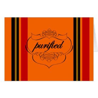 Pengi Apados Purified notecard