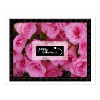 Pengi Bebewear pink roses postcards