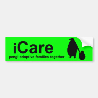 PengiCARE iCare bumper sticker