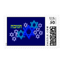 PengiHoliday Hanukkah Star of David stamps