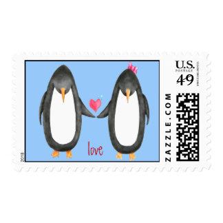 Pengin Luv Stamp