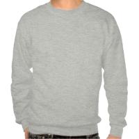 Pengiun at north pole pullover sweatshirts