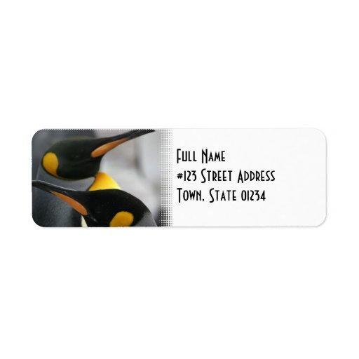 Pengiuns Return Address Label