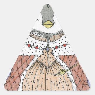 PengQueen Triangle Sticker