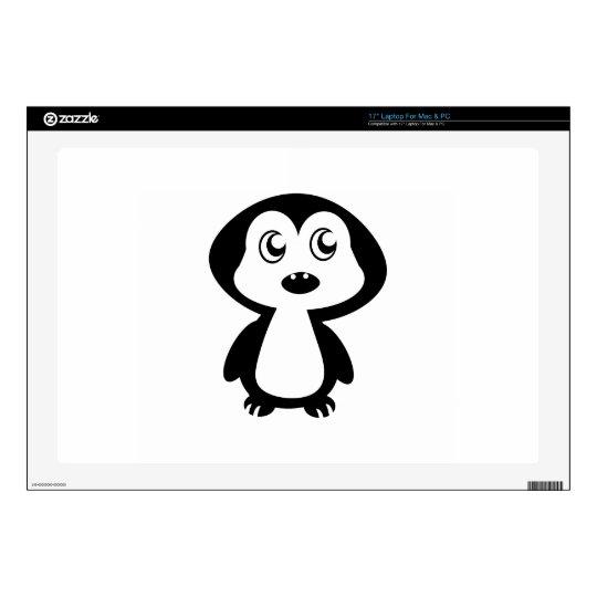 "Penguin 17"" Laptop Skins"