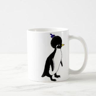penguin afro double mug