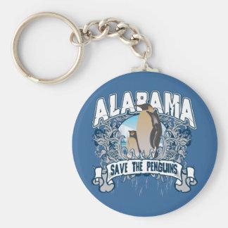 Penguin Alabama Keychain
