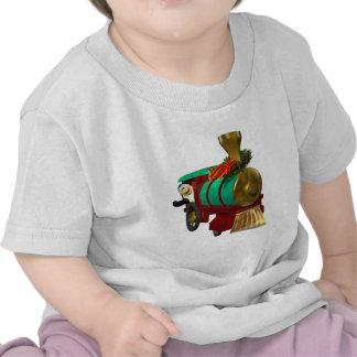 Penguin and Christmas Train T-shirt