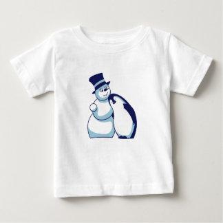 Penguin and Schneemann Baby T-Shirt