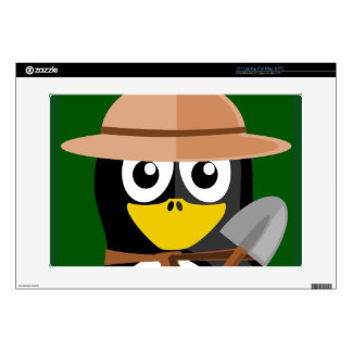 "Penguin Archaeologist 15"" Laptop Skins"