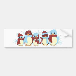 Penguin Around Bumper Sticker