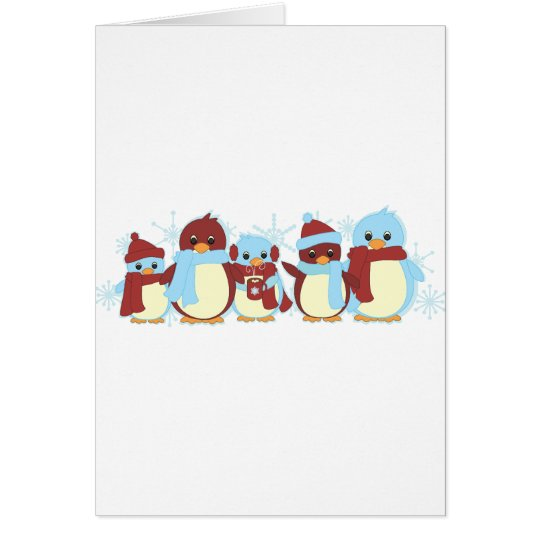 Penguin Around Card
