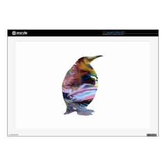 Penguin Art Laptop Skin
