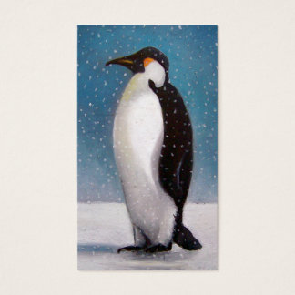 PENGUIN: ART: REFRIGERATION BUSINESS BUSINESS CARD