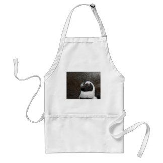 penguin artwork adult apron